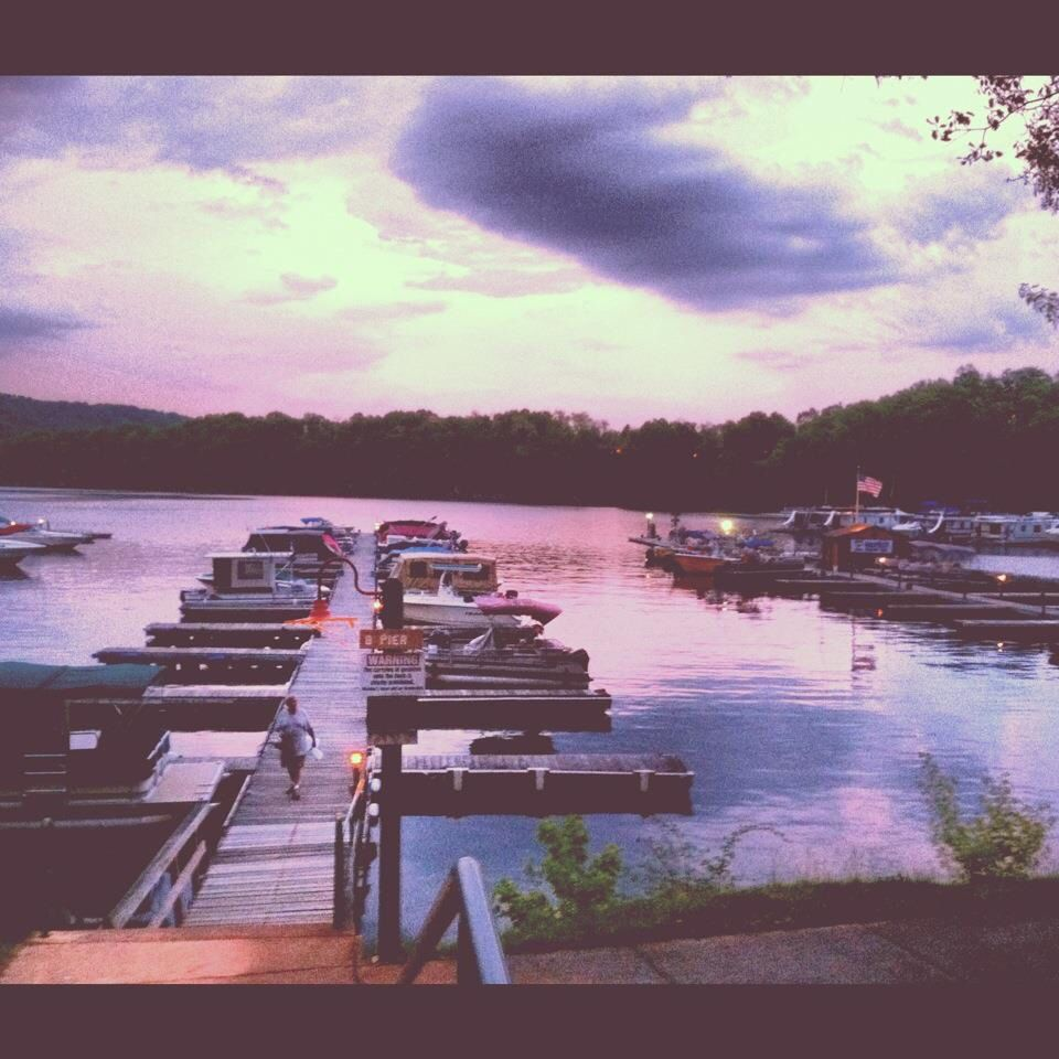 Boat dock raystown lake pennsylvania places to go