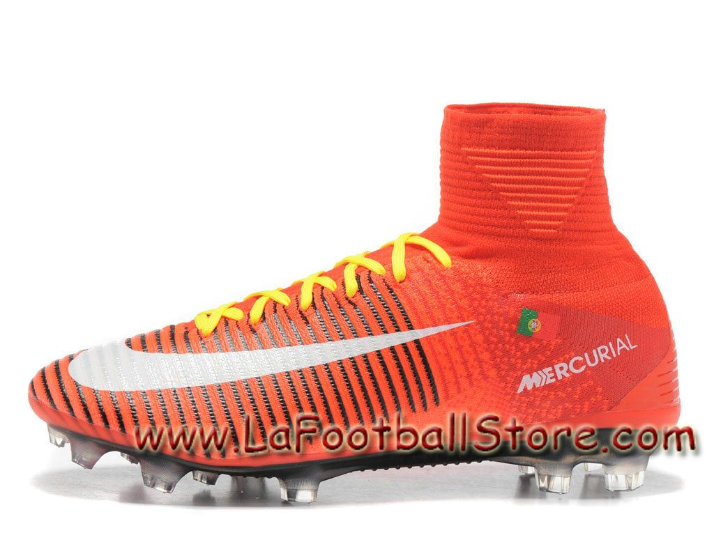 finest selection 7dbc8 5eef9 Nike Mercurial Superfly V FG(Portugal) Chaussure de football à crampons  pour terrain sec pour Homme Red