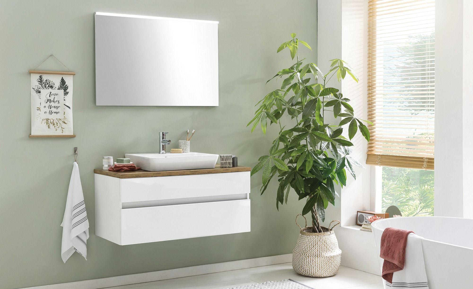 Badezimmer Kombination Zierker See Gefunden Bei Mobel Hoffner Bad Einrichten Badezimmer Waschtischplatte