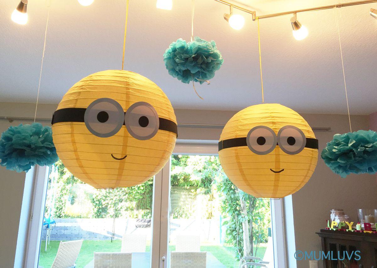Minion Birthday Party Part 2 | Minion party decorations ...