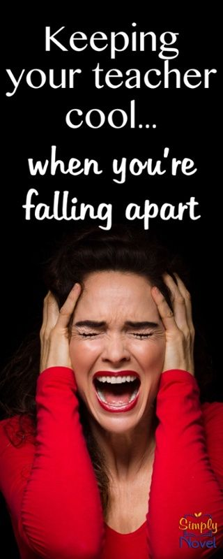 How to keep it together when all you want to do is fall apart...