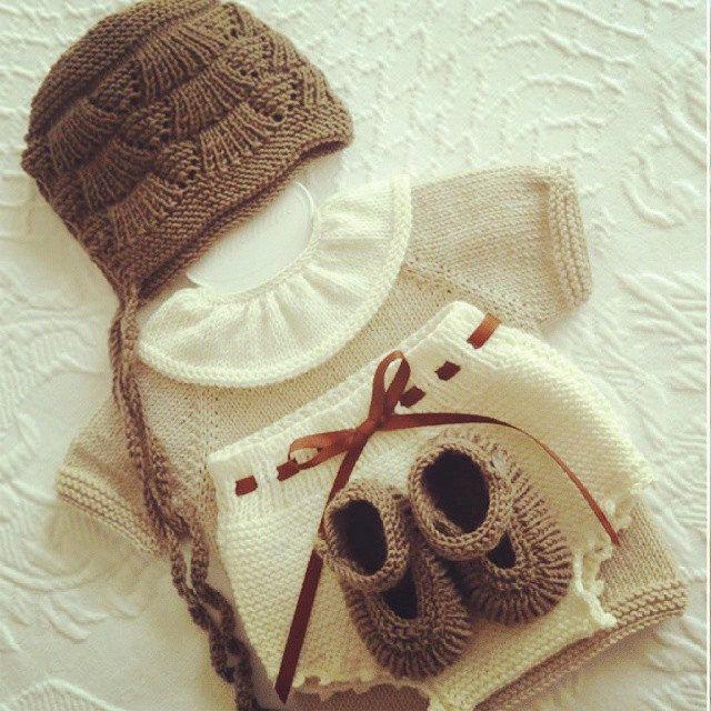 Fall/winter collection: vintage newborn set #pontinhosmeus ...