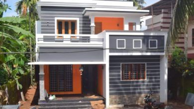 1372 Square Feet 3 Bedroom Double Floor Beautiful House and Plan