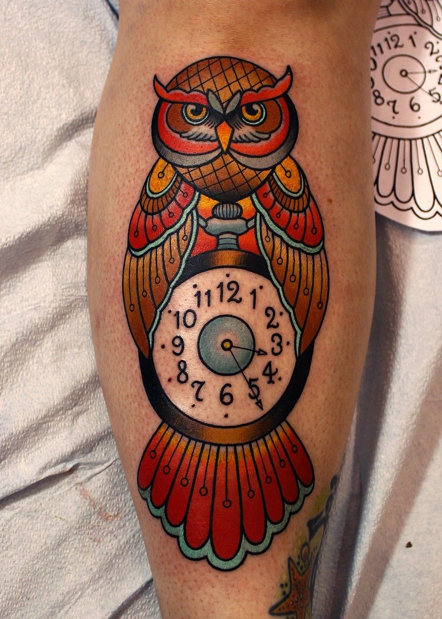 owl tattoo by dave wah at stay humble tattoo company in baltimore ...