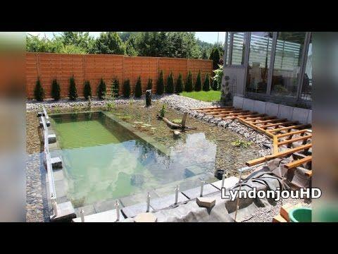 Construye una piscina natural en su jard n y el resultado for Construccion albercas naturales