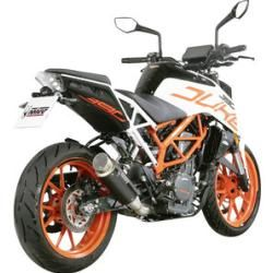 Photo of Mivv Gp Pro Slip On Carbon/Titan/Black Steel Ktm Rc 390 (euro 4) Mivv