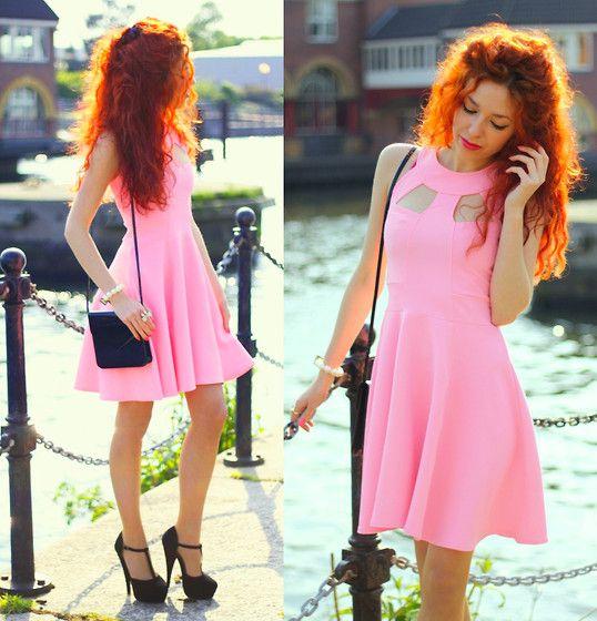 Neon Pink (by Aleksandra P) http://lookbook.nu/look/3547599-Neon-Pink