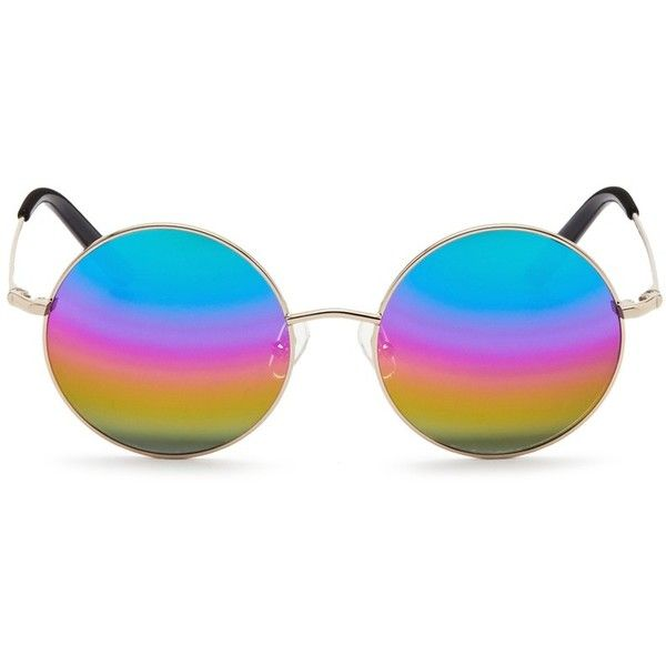 2248e7ca38 Matthew Williamson Round metal mirror sunglasses (11