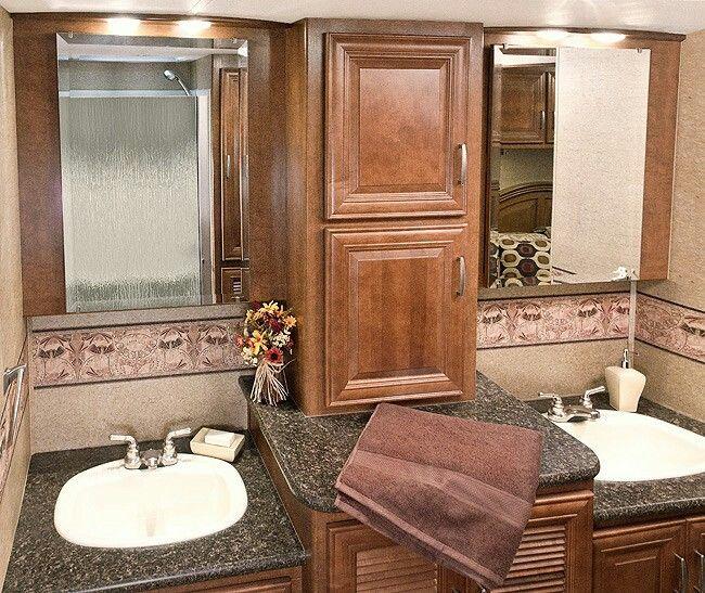 nice vanity area