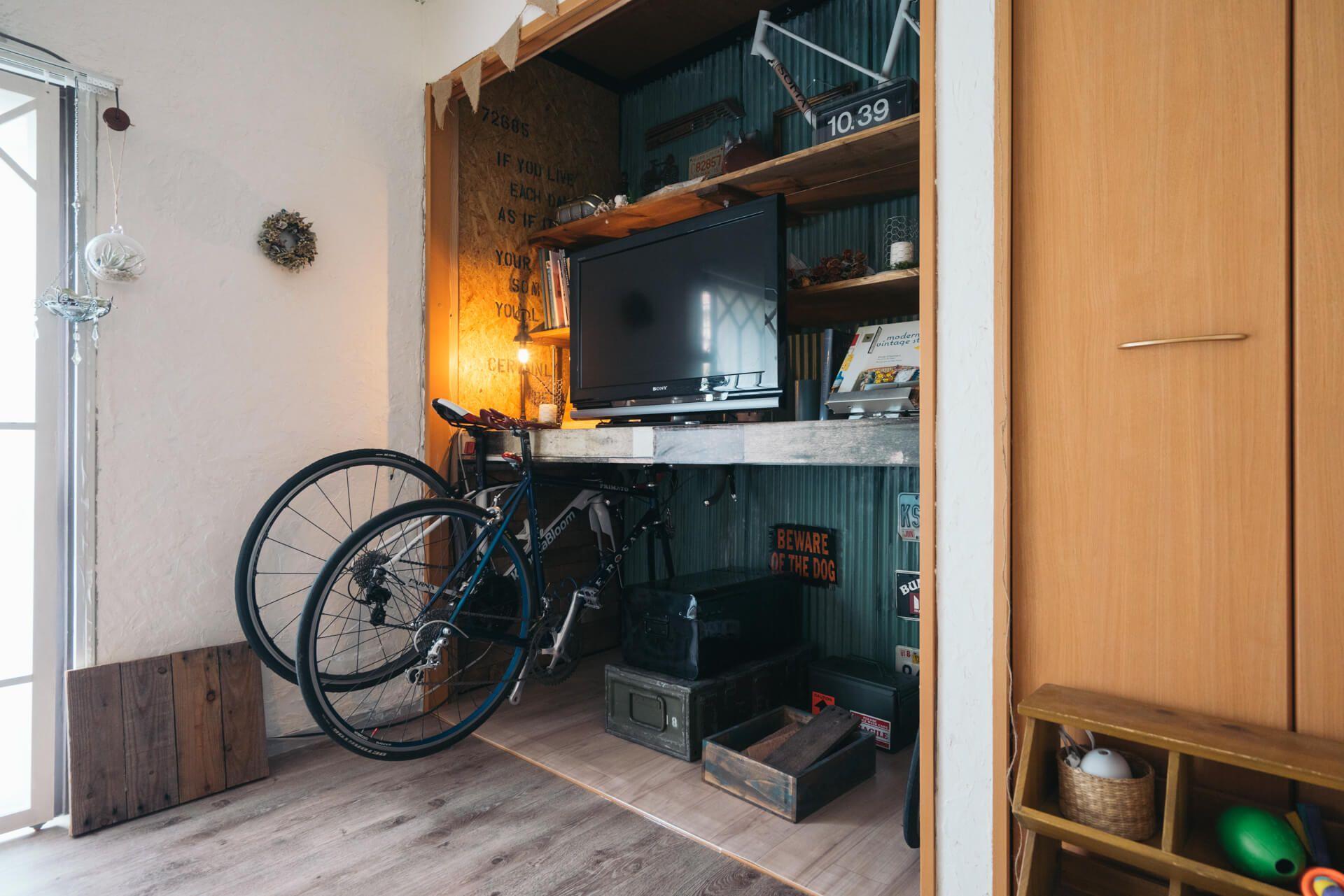 賃貸の一軒家をナチュラル ジャンクテイストにdiy Tarako Ten さんの部屋 部屋 襖 インテリア