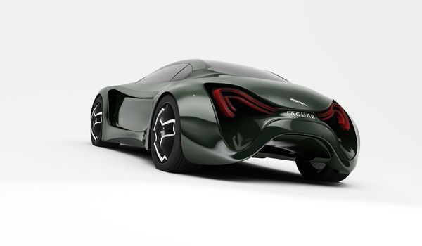 Jaguar XKX by Skyrill.com , via Behance