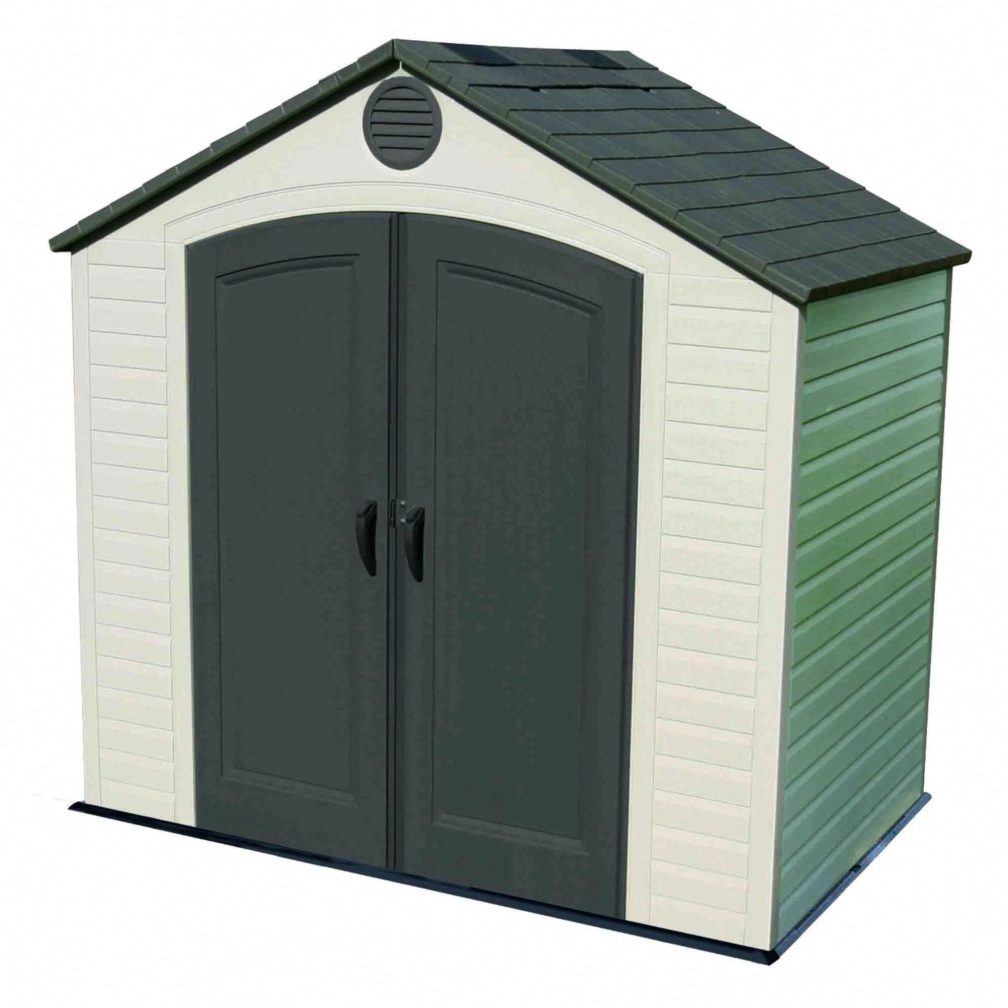 Outdoor Storage Shed 8 X 5 Desert Sand Lifetime Gray Plasticgardensheds Outdoor Storage Sheds Lifetime Storage Sheds Storage Shed