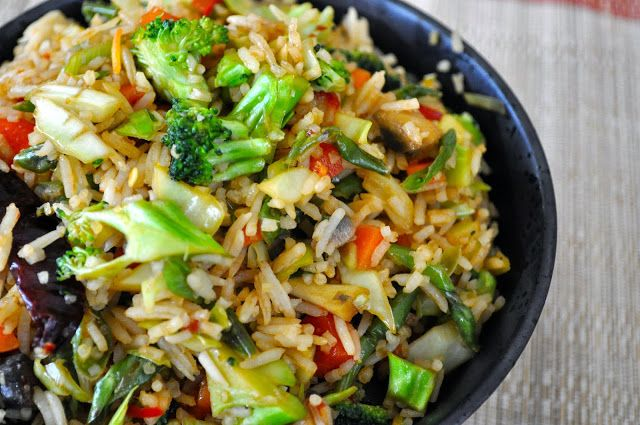 Cooking with Meena: Spicy Veggie Fried Rice