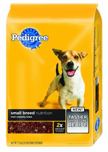 Pedigree Small Breed Dry Dog Food For Adult Dogs Less Than 25 Lbs