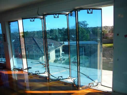 Bi Fold Exterior Glass Doors | Home/Decorating | Pinterest | Glass ...