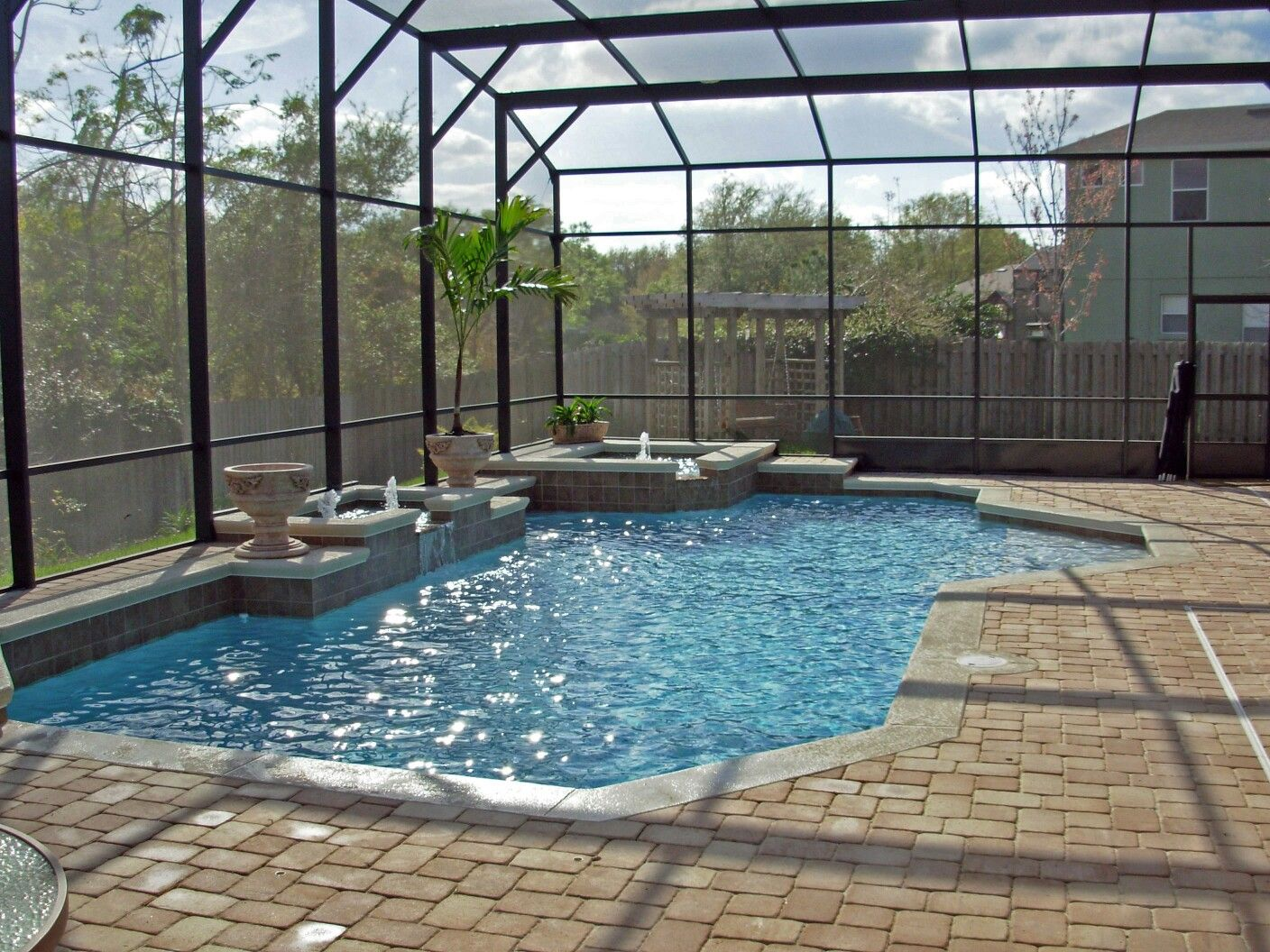 Water Features Are So Relaxing Swimming Pool Images Outside Pool Swimming Pools
