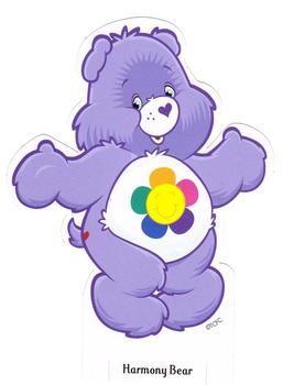 Harmony Care Bear  Care Bears  Cousins  Pinterest  Care bears