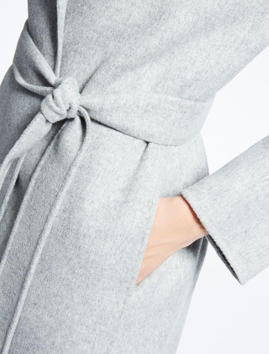 quality design c9740 49360 Cappotto in lana, grigio perla -