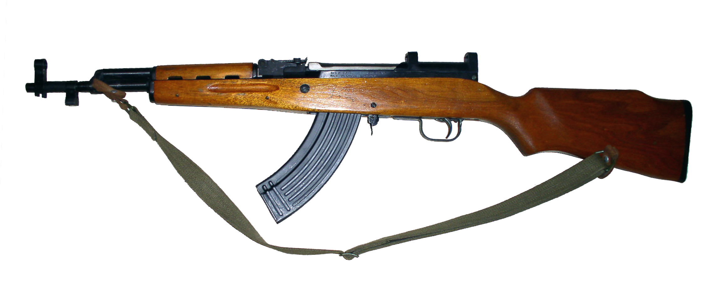 Sks Rifle With Banana Clip Dont Enter Unannounced Please And
