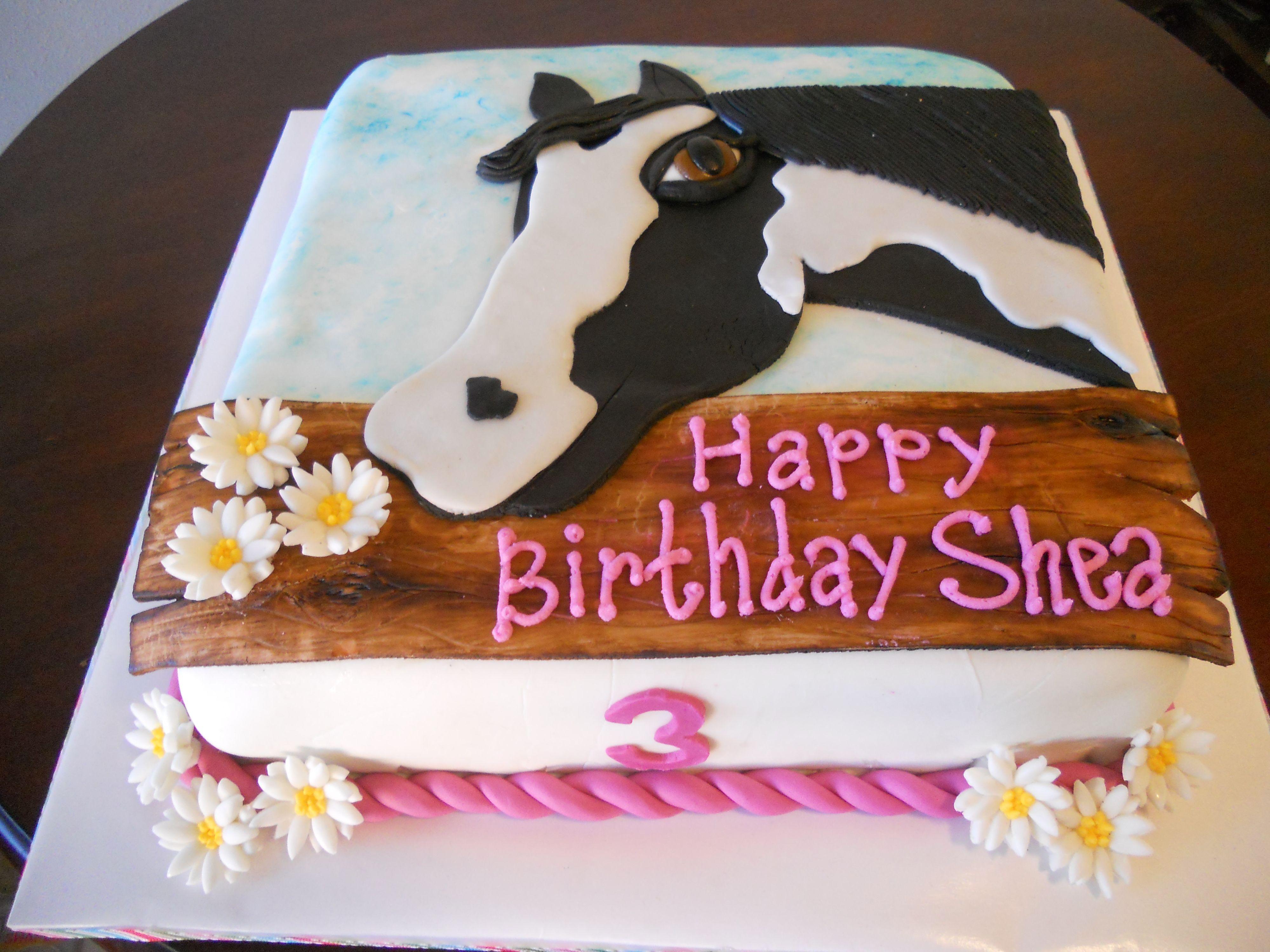 Birthday Cake Decorations Horses : So so so sweet for you one day. @Katiyah Ceynowa Ceynowa ...