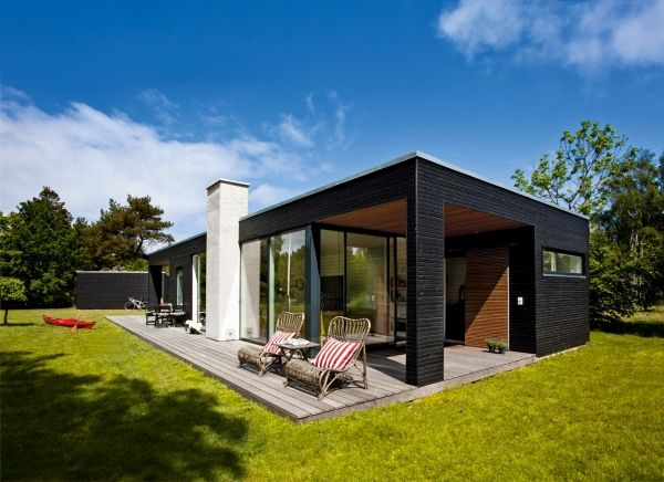 One Storey House In Denmark 10 One Storey House Architecture House Cottage Design