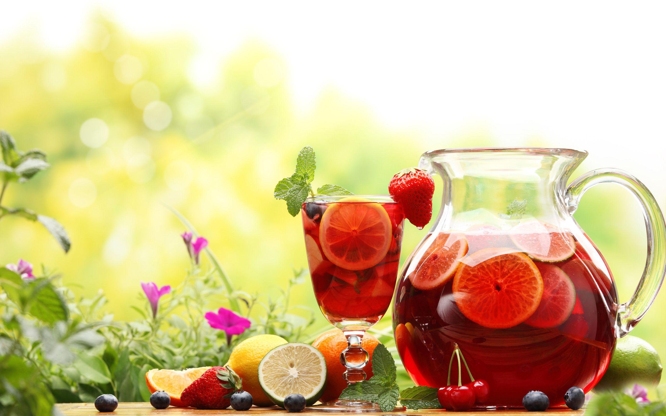 Strawberry Lemonade HD Wallpaper Cool, Cold Drinks