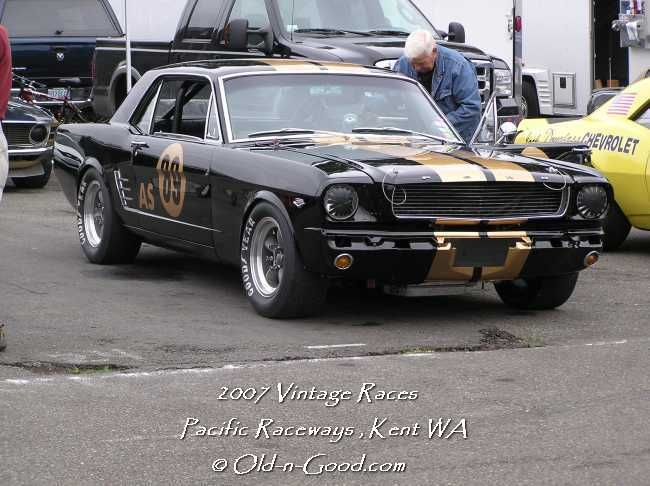 64 65 66 MUSTANG Race Cars