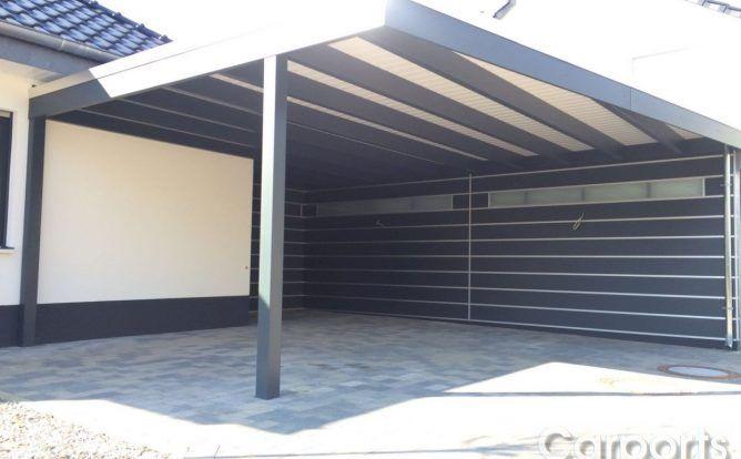 carport mit abstellraum bauhaus hpl trespa garages pinterest haust ren. Black Bedroom Furniture Sets. Home Design Ideas