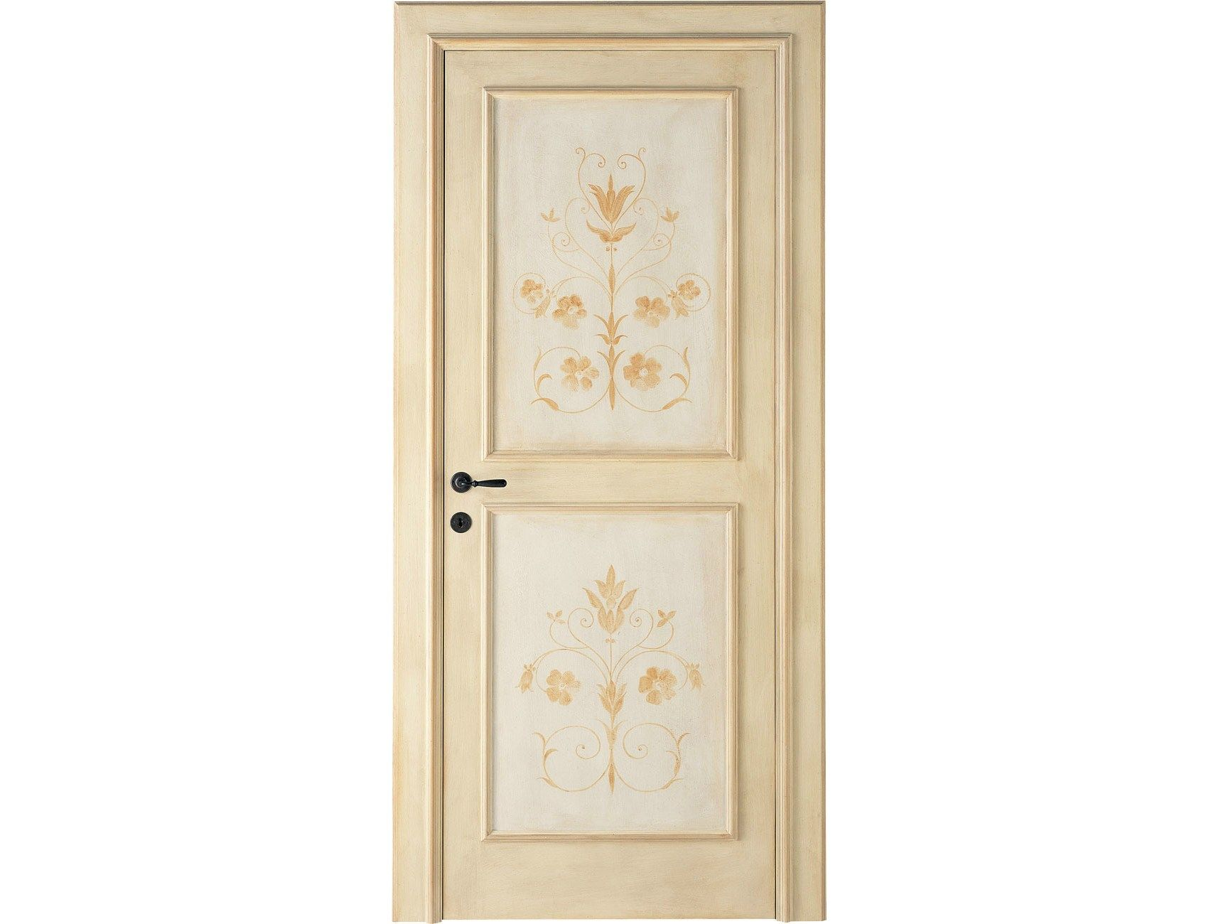 Porte Interne decorate a mano LUNAMARE - ANTICHE PORTE ...