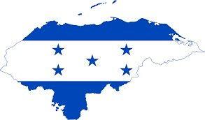 Mapa De Honduras Honduras Flag Flag Flag Art