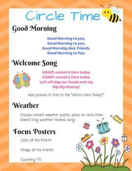 Infant/Toddler Circle Time: December