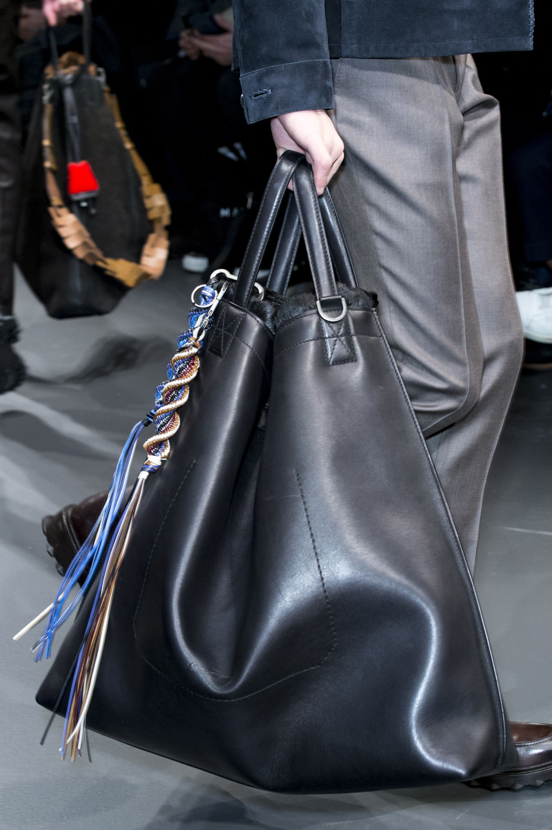 Salvatore Ferragamo Fall 2017 Men S Details Handbags For Leather Bags Purses