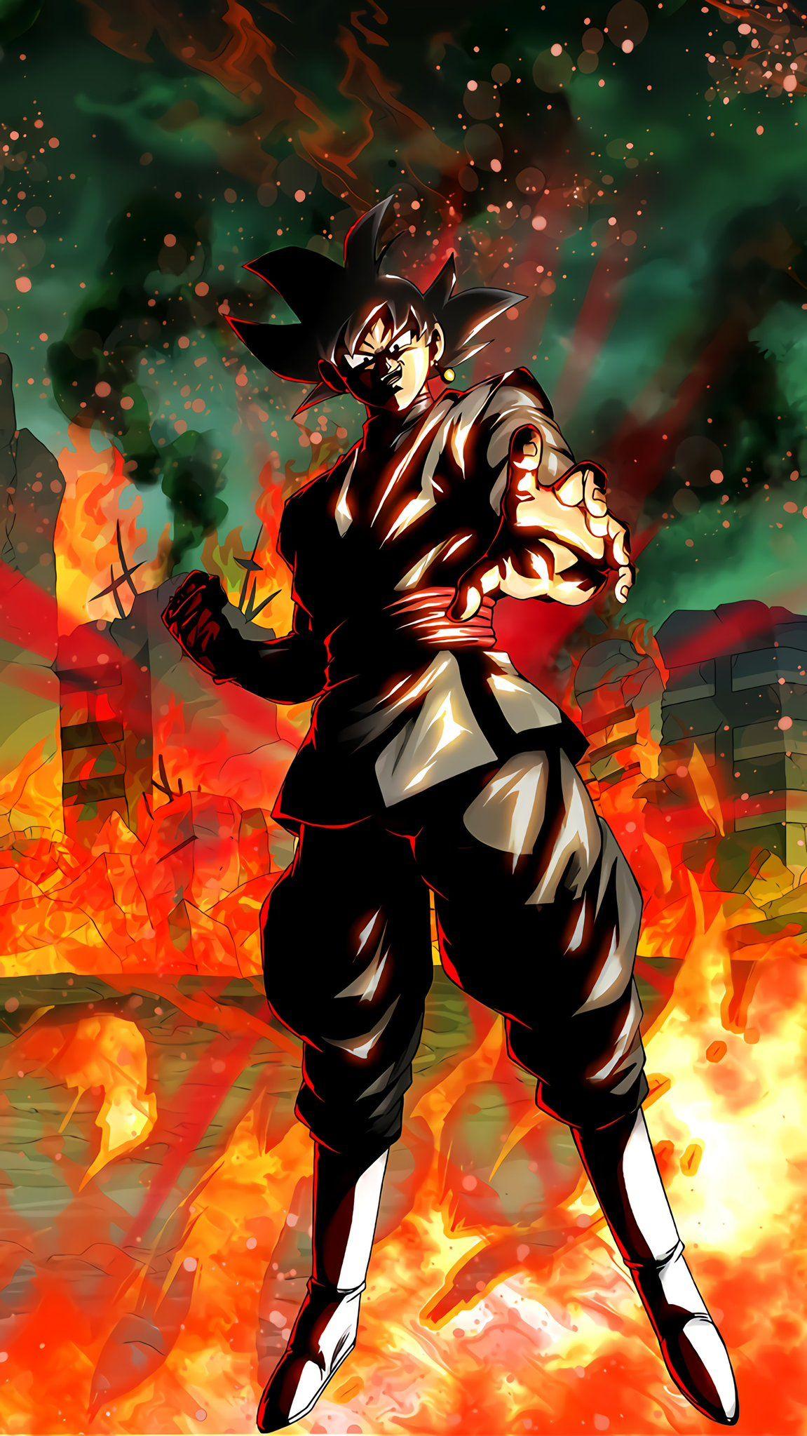 Black Goku Anime Dragon Ball Super Goku Black Dragon Ball Super Manga