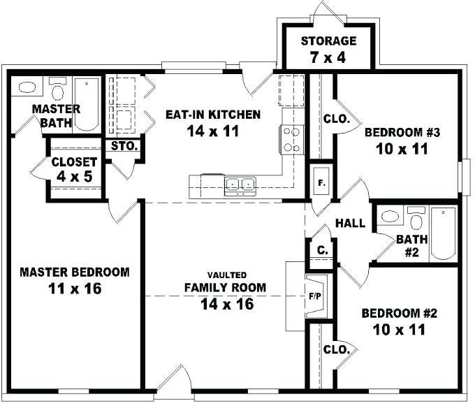 Metal House Plans, Bedroom