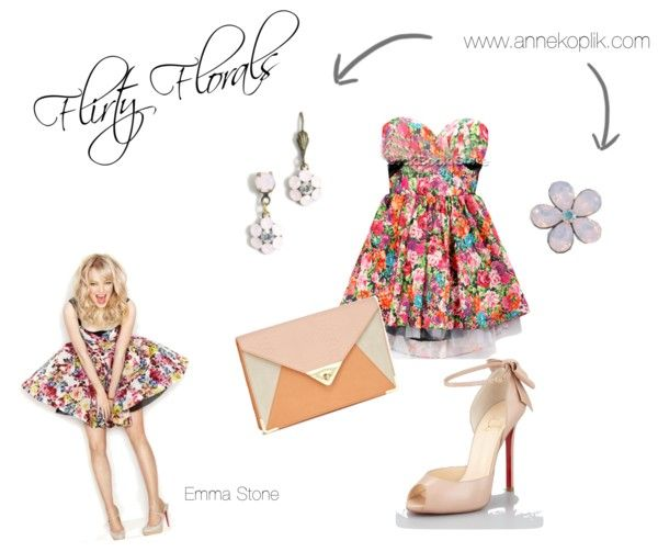 Its Famous Friday here at AKD. Get Emma Stones flirty