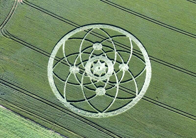 Pin By Ted Ringer On Crop Circles Pinterest Golden Ring And Crop