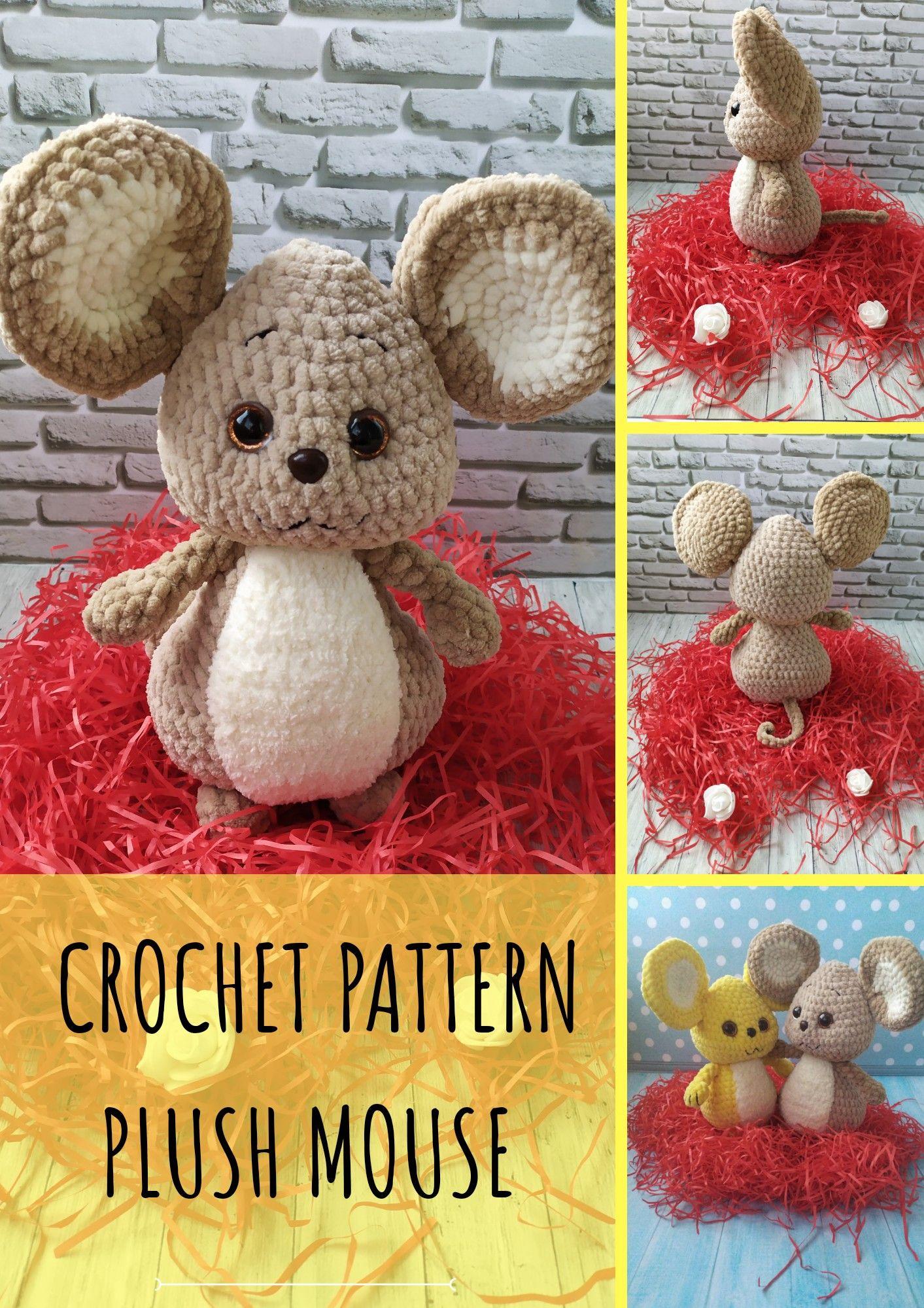 Free Mini Mouse Crochet Patterns | 1999x1413
