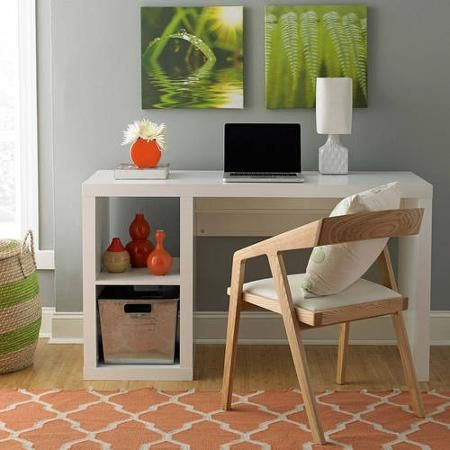 Beau Better Homes And Gardens Cube Organizer Desk, Multiple Finishes    Walmart.com