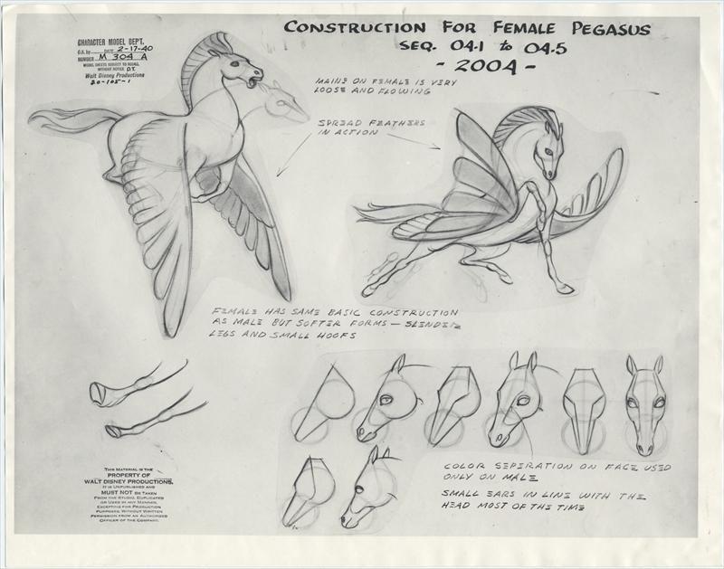 Character Design Disney Tutorial : Fantasia character sheets disney animation