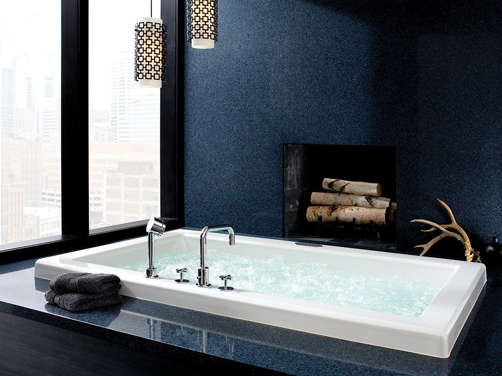 Cambria Quartz - Tub Surround #BristolBlue #ClassicCollection ...