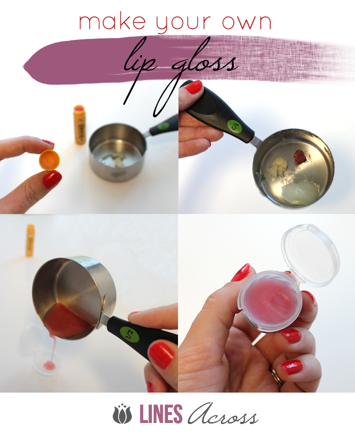 Lines Across Make Your Own Lip Gloss Diy Lip Gloss Lip Gloss Tutorial Lip Gloss