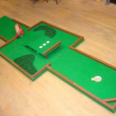 Build putt golf course