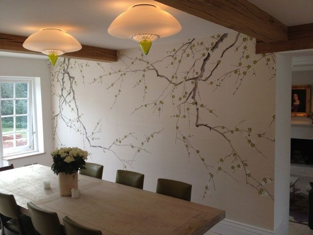 Image Result For Plum Blossom Wallpaper De Gournay
