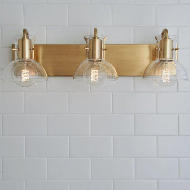 Photo of Cut Round Flask Bath Light – 3 Light