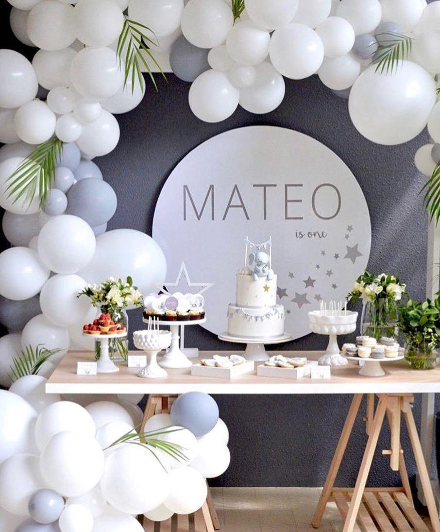 Ideas decoraci n de baby shower en 2019 fiestas de - Decoracion primer cumpleanos ...
