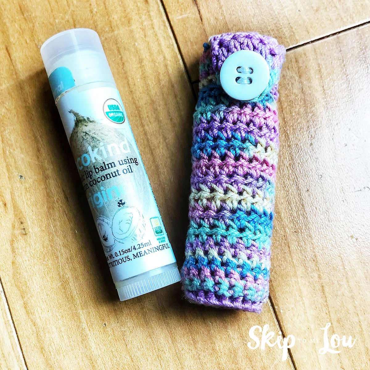 Easy Crochet Lip Balm Holder Free Pattern Crochet Yarn