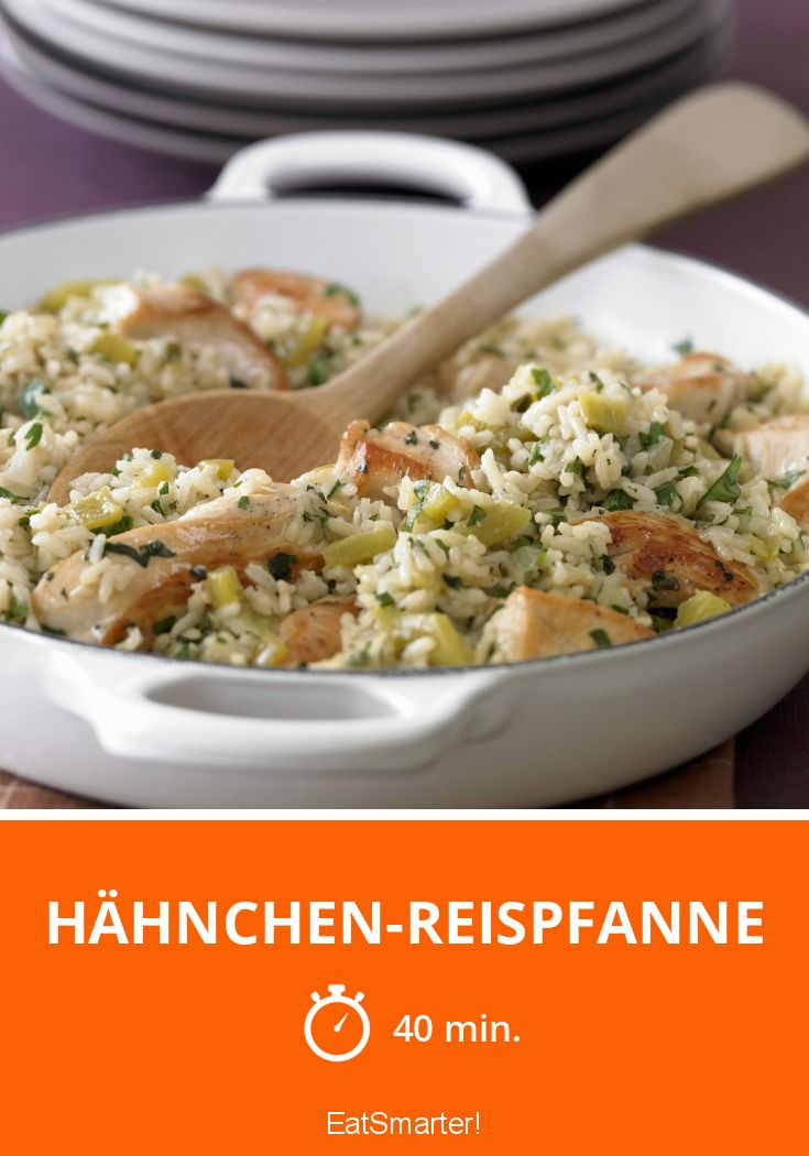 Photo of Chicken and Rice Pan