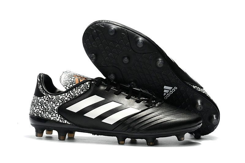 best loved bcc8f f39d4 2018 World Cup Men Order Soccer Cleats Adidas Copa 18 1 FG Black White