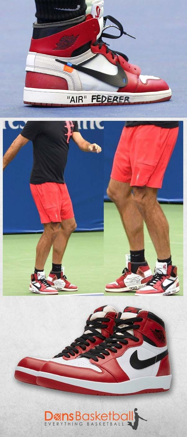 2f3df4c8dc1 Air Jordans · Athlete · Roger Federer opened up the U.S. Open Tennis  Tournament with style. The Swiss tennis star