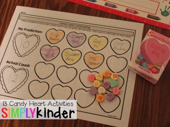 Conversation heart activity